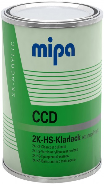 Mipa 2K-HS-Klarlack CCD stumpfmatt (1 Liter)