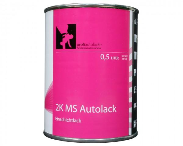 profiautolacke 2K Einschicht-Autolack in Wagenfarbe (0.5 Liter)