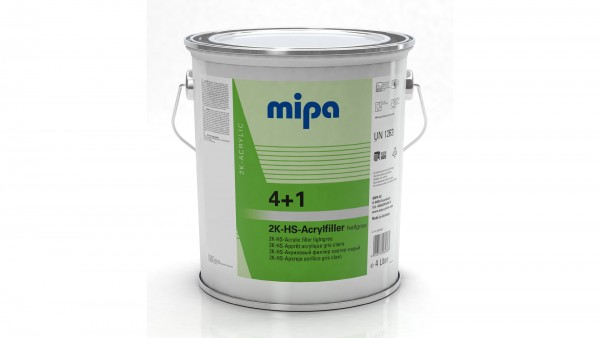Mipa 4+1 Acrylfiller HS hellgrau (4l)
