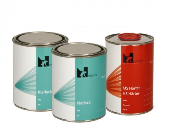 3 Liter VOC 2K-HS Klarlack, Härter Komplettpaket