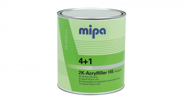 Mipa 4+1 Acrylfiller HS hellgrau (3l)