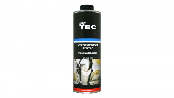 SprayTec - Unterbodenschutz-Bitumen schwarz für UBS Pistole (1000ml)