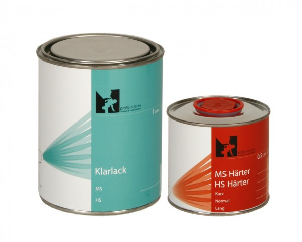 1,5 Liter VOC 2K-HS Klarlack, Härter Komplettpaket