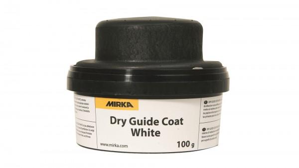 Mirka Kontrollpulver weiß Handblock + Kontrollpulver (weiß) 100g (1Stk)