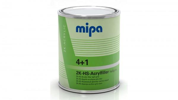 Mipa 4+1 Acrylfiller HS hellgrau (1l)