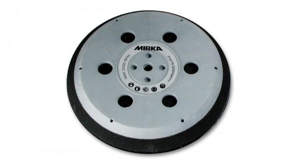 """Mirka hart Grip-Teller (Unipad) Ø 150 mm 5/16"""" + M8 Gewinde, inkl. Schutzauflage, geeignet für 6-Loc"""