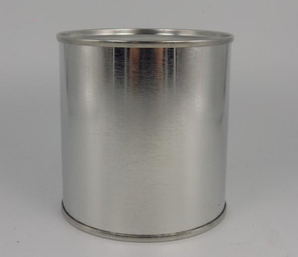 Mipa Leerdose blank 250ml innenbeschichtet mit Deckel (1 Stk.)