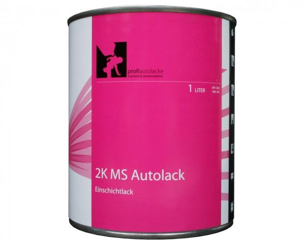 Autolack RAL 5010 ENZIANBLAU 2K Einschichtlack (2 Liter, Übungslack)