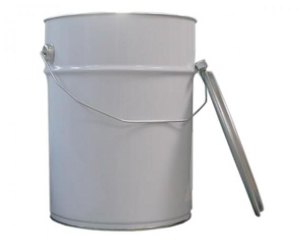 Leereimer mit Deckel (10,0 Liter)