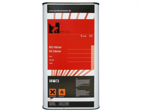 profiautolacke - HS Härter normal für HS Klarlack (5 Liter)