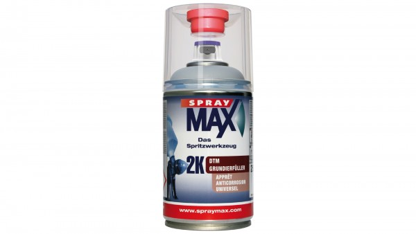 Spray Max - 2K DTM-Grundierfüller hellgrau (250ml)