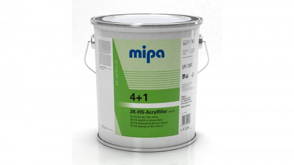 Mipa 4+1 Acrylfiller HS weiß (4l)