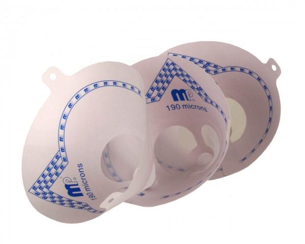 profiautolacke Nylon - Schnellsieb 125 Micron für Wasserlacke (1 Stück)