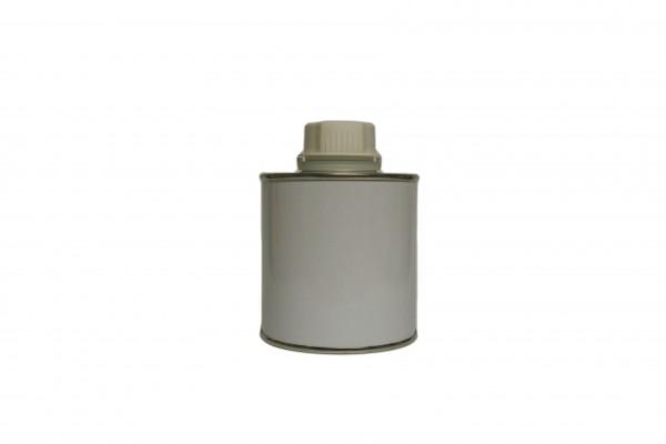 Schraubdose blank mit Verschluss (0,25 Liter)