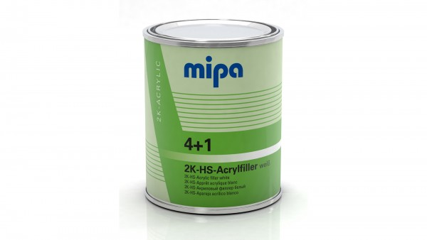 Mipa 4+1 Acrylfiller HS weiß (1l)