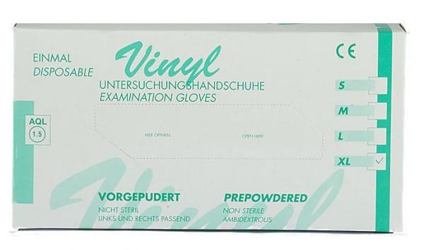 Vinyl - Handschuhe (100 Stück)