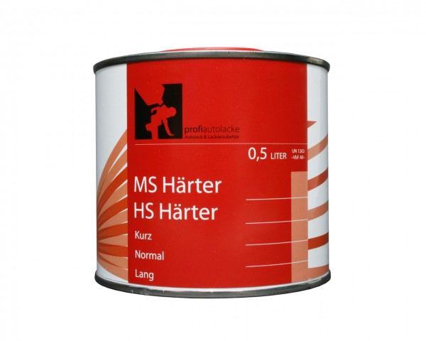 "profiautolacke - MS Härter ""normal"" (0,25 Liter)"