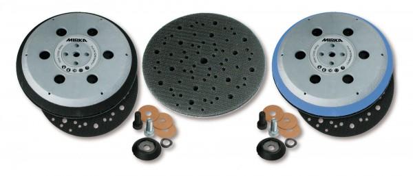 """Mirka medium Grip-Teller (Unipad) Ø 150 mm 5/16"""" + M8 Gewinde, inkl. Schutzauflage, geeignet für 6-L"""