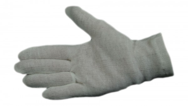 Baumwoll-Trikot-Handschuh Herren (12 Paar)
