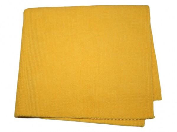 Microfaser- Finishtuch gelb (390mm x 400mm)