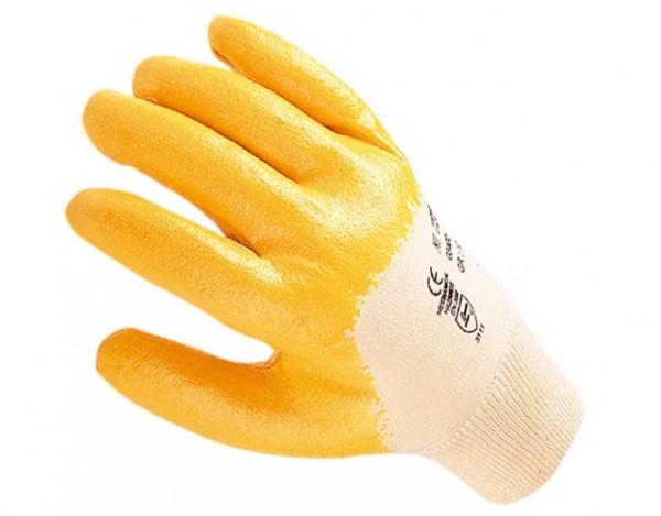 Nitril - Handschuhe gelb (Größe 10)