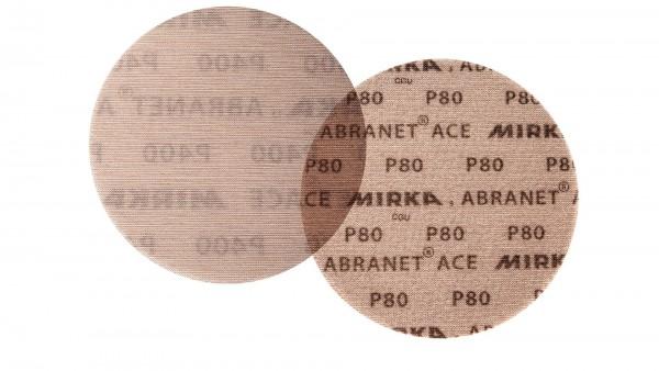 Mirka Abranet Ace Scheiben Ø 125 mm Grip Gitternetz P80 (50Stk)