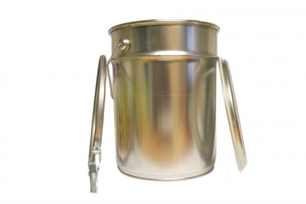 Leerdose mit Deckel (5,0 Liter, Kto. / 20 Stück)