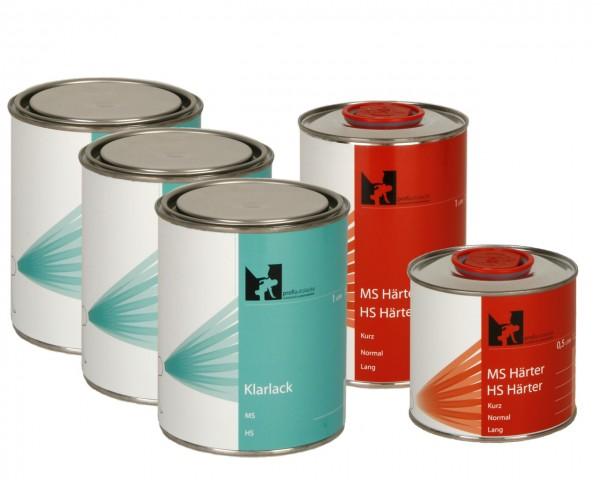 4,5 Liter VOC 2K-HS Klarlack, Härter Komplettpaket