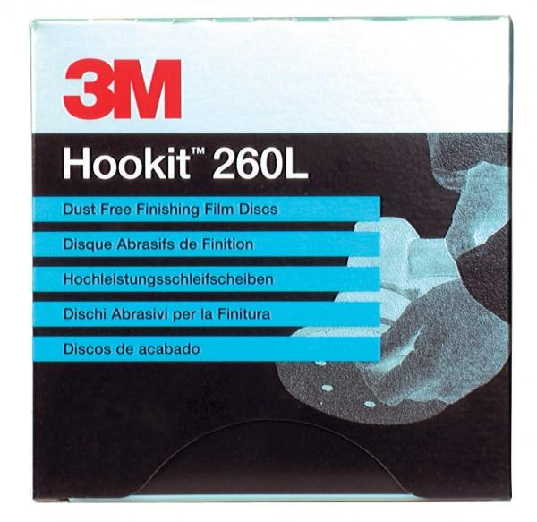 3M - 260L Hookit Disc 76 ungelocht P800 (Pa. / 50 Stück)