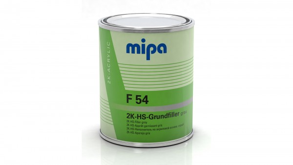 Mipa 2K-HS-Grundierfüller F54 hellgrau (1l)