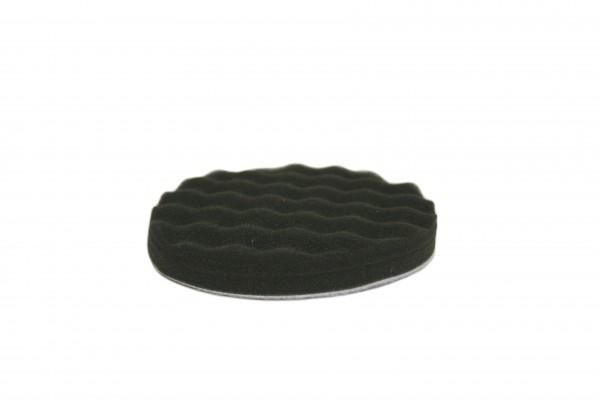 profiautolacke - Polierschwamm schwarz gewaffelt (Durchm. 150mm)
