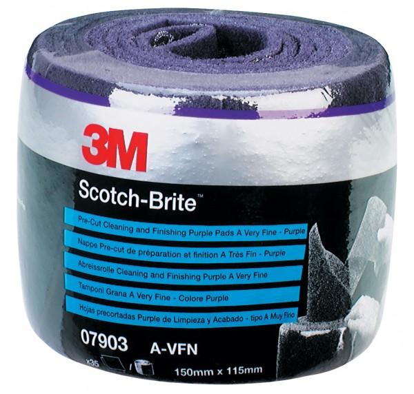 3M - Scotch-Brite Perforierte Rolle veryfine purple E07903 (35 Pads)